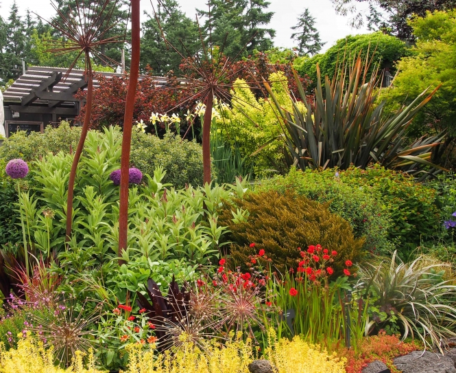 HCP Garden designed by the Victoria Hardy Plant Group